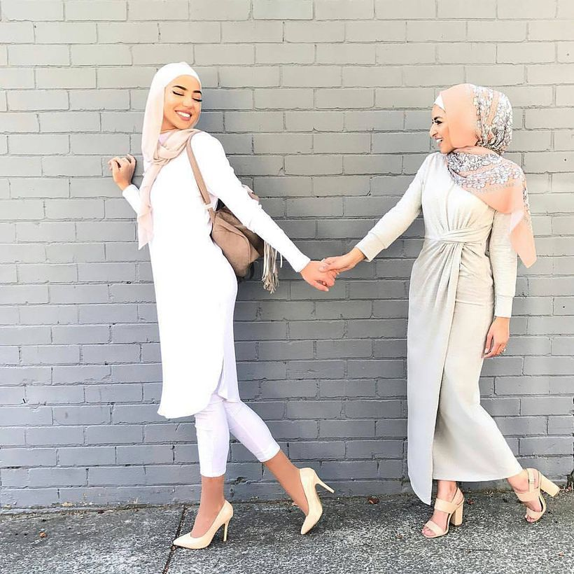 Elegant muslim outift ideas for eid mubarak 33