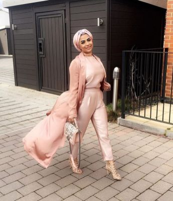 Elegant muslim outift ideas for eid mubarak 44