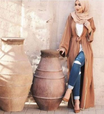 Elegant muslim outift ideas for eid mubarak 45