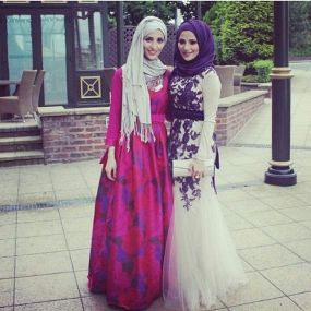 Elegant muslim outift ideas for eid mubarak 7