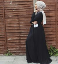 Elegant muslim outift ideas for eid mubarak 77