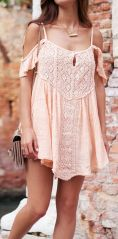 Fabulous boho open shoulder outfits ideas 1