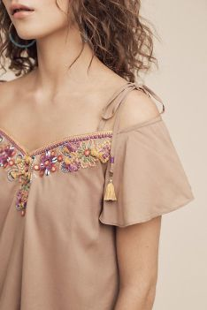 Fabulous boho open shoulder outfits ideas 20