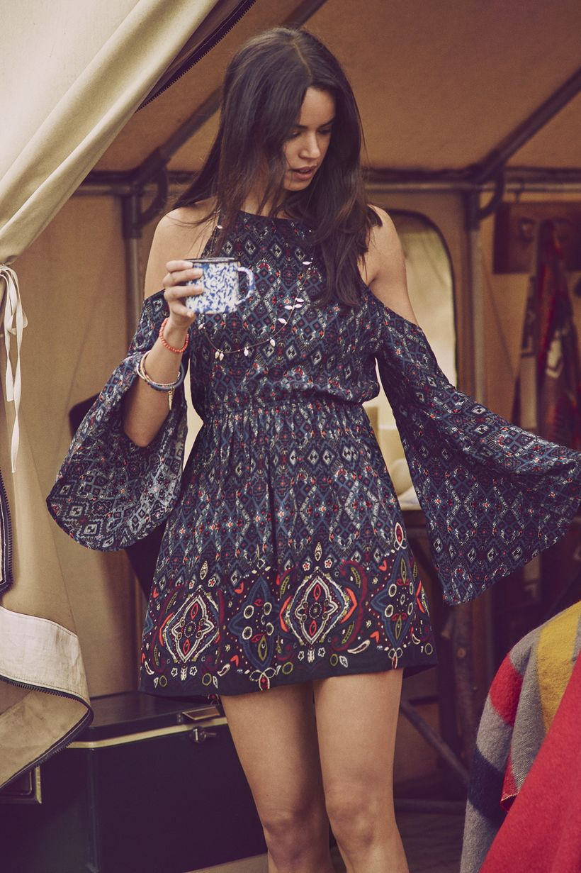 Fabulous boho open shoulder outfits ideas 26
