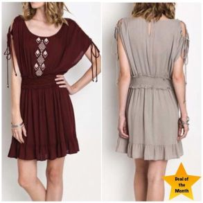 Fabulous boho open shoulder outfits ideas 5