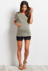 Fashionable maternity fashions outfits ideas 8