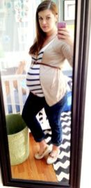 Fashionable maternity fashions outfits ideas 93