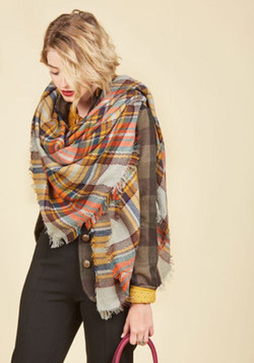 Fashionable scraves accessories ideas for cold weather 15