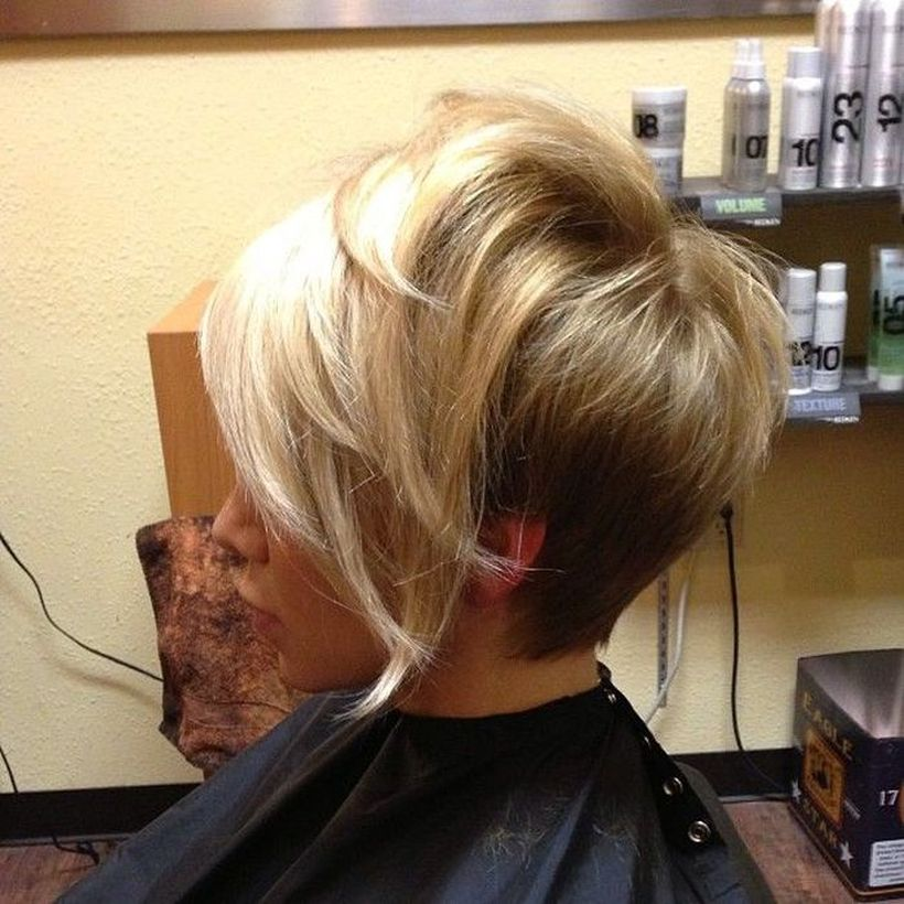 Funky short pixie haircut with long bangs ideas 3