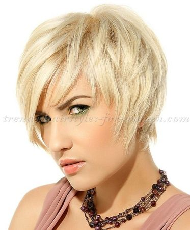 Funky short pixie haircut with long bangs ideas 91