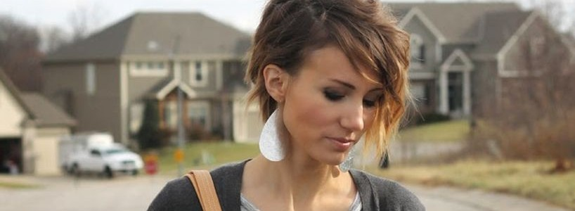 Funky short pixie haircut with long bangs ideas featured