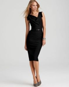 Gorgeous elegance black dress outfits 16