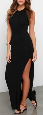 Gorgeous elegance black dress outfits 32