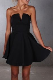 Gorgeous elegance black dress outfits 8