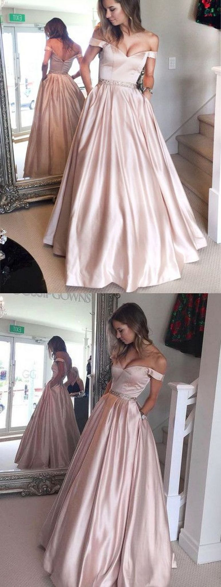 Gorgeous prom dresses for teens ideas 2017 46