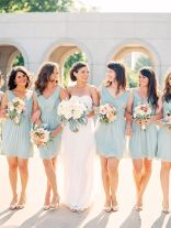 Gorgeous short bridesmaid dresses design ideas 13