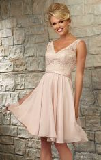 Gorgeous short bridesmaid dresses design ideas 17