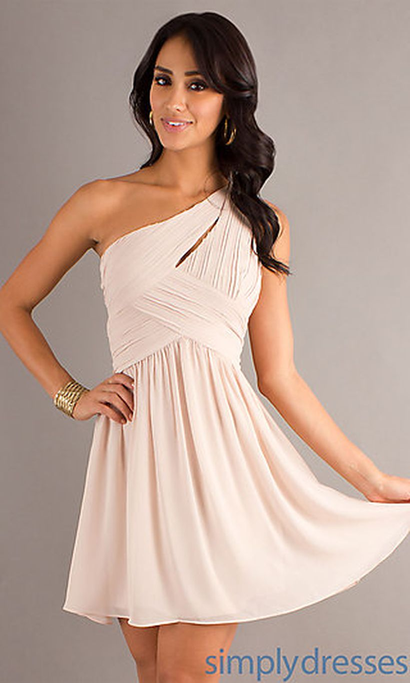 Gorgeous short bridesmaid dresses design ideas 35