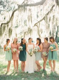 Gorgeous short bridesmaid dresses design ideas 43