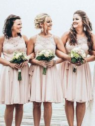 Gorgeous short bridesmaid dresses design ideas 6