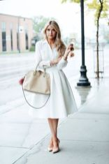 Gorgeous white shirtdresses for summer and spring outfits 16