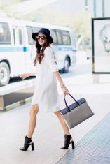 Gorgeous white shirtdresses for summer and spring outfits 17