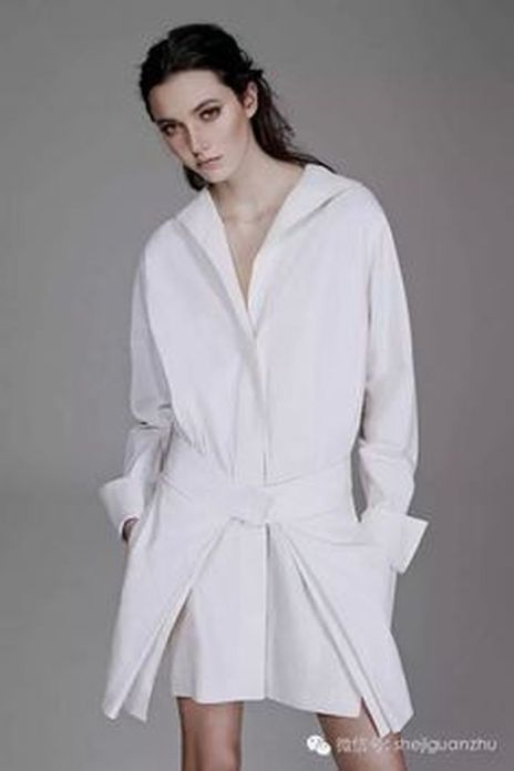 Gorgeous white shirtdresses for summer and spring outfits 25