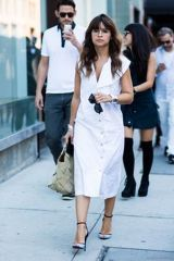 Gorgeous white shirtdresses for summer and spring outfits 27