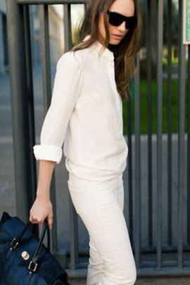 Gorgeous white shirtdresses for summer and spring outfits 32