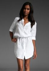 Gorgeous white shirtdresses for summer and spring outfits 43