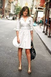 Gorgeous white shirtdresses for summer and spring outfits 49