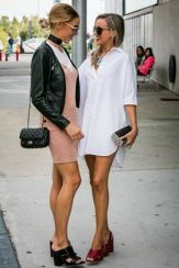 Gorgeous white shirtdresses for summer and spring outfits 54
