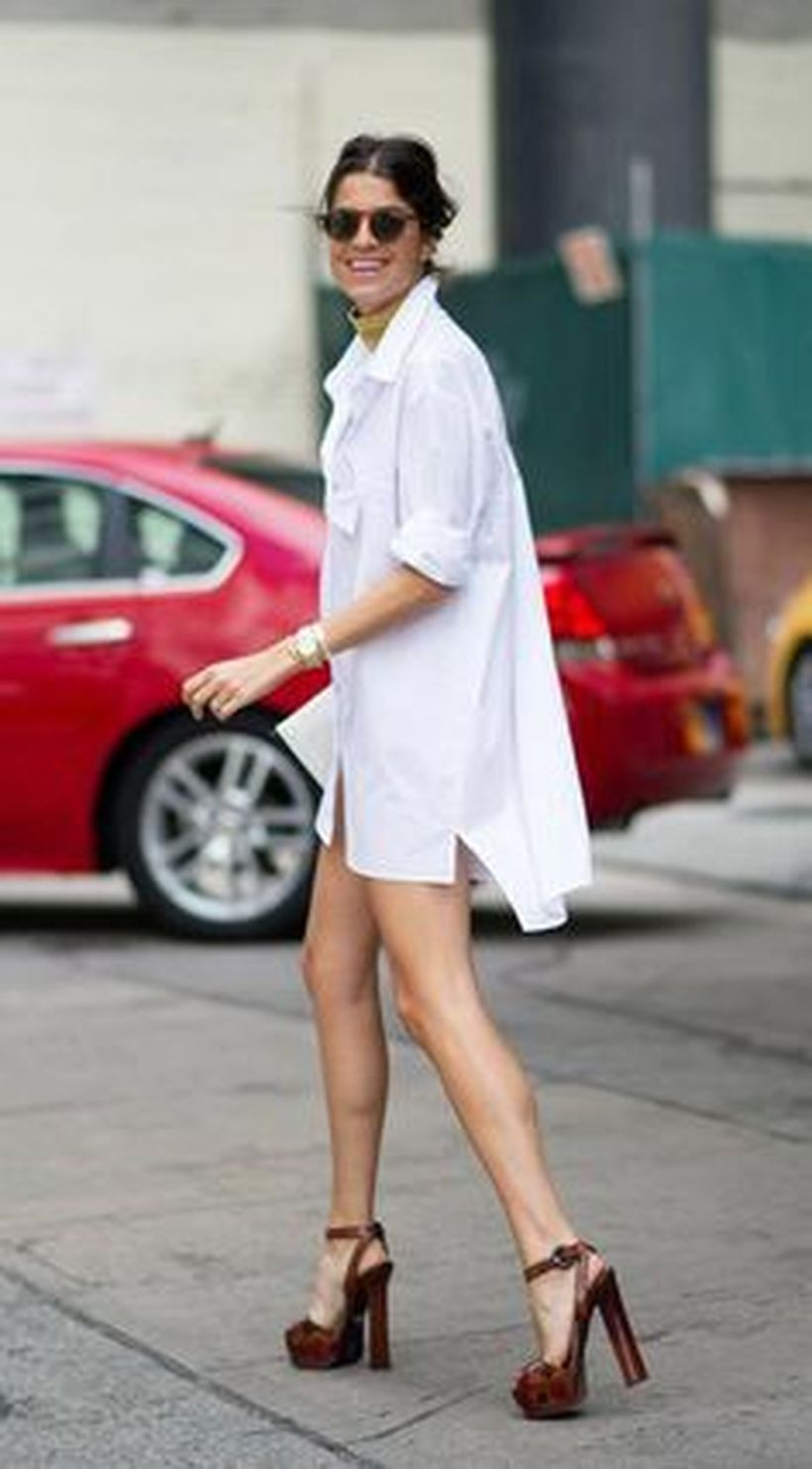 Gorgeous white shirtdresses for summer and spring outfits 55