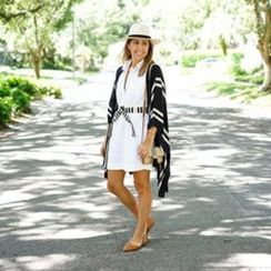 Gorgeous white shirtdresses for summer and spring outfits 56