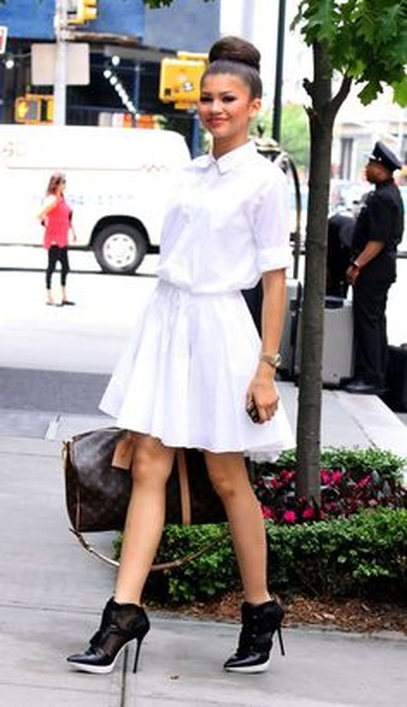 Gorgeous white shirtdresses for summer and spring outfits 65