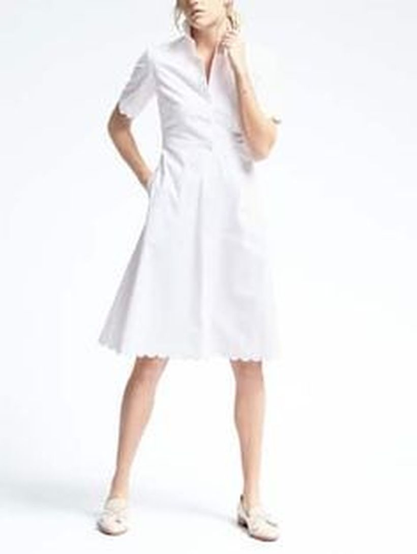 Gorgeous white shirtdresses for summer and spring outfits 68