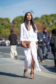 Gorgeous white shirtdresses for summer and spring outfits 69
