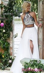 Gorgeous white two piece outfits ideas 50
