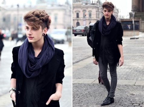 Marvelous genderfluid fashion outfits ideas 25
