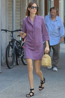 Marvelous striped shirtdresses outfits ideas 22