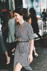 Marvelous striped shirtdresses outfits ideas 35