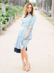 Marvelous striped shirtdresses outfits ideas 36