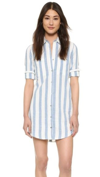 Marvelous striped shirtdresses outfits ideas 39