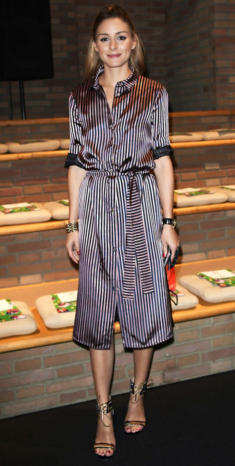 Marvelous striped shirtdresses outfits ideas 51