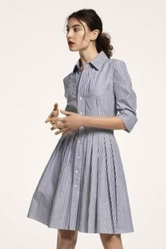 Marvelous striped shirtdresses outfits ideas 58