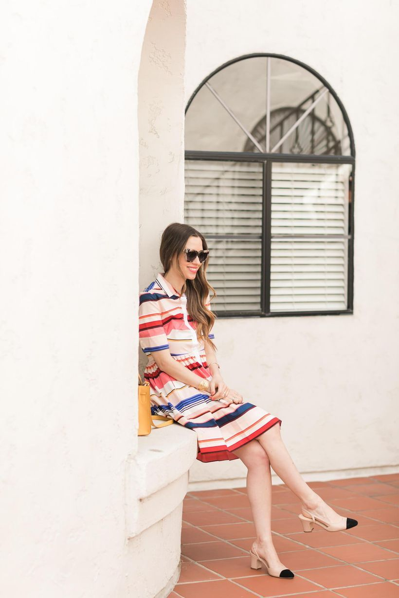 Marvelous striped shirtdresses outfits ideas 59
