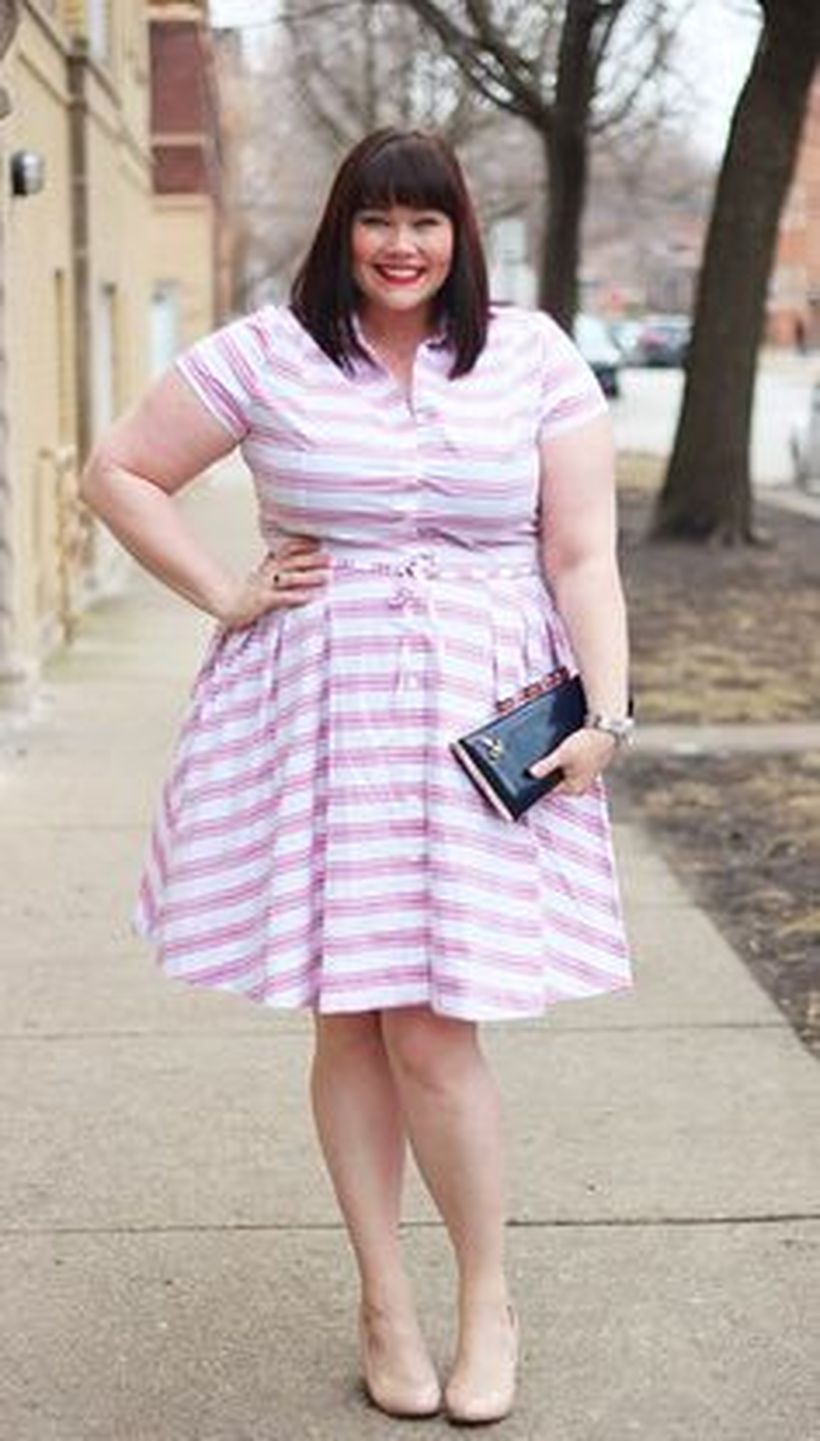 Marvelous striped shirtdresses outfits ideas 6