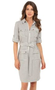 Marvelous striped shirtdresses outfits ideas 61