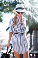 Marvelous striped shirtdresses outfits ideas 8