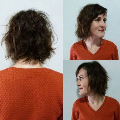 Modern short shaggy haircut hairstyle ideas 12